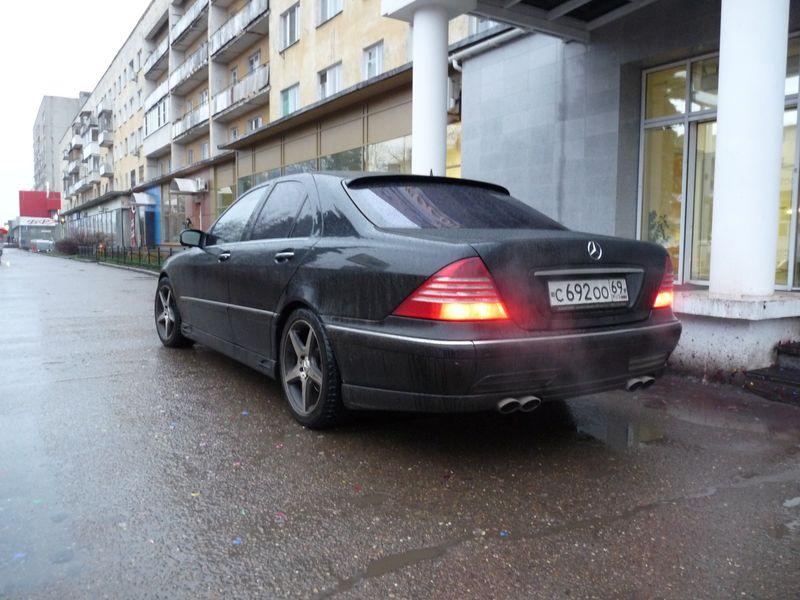 Vip avto Mercedes w220