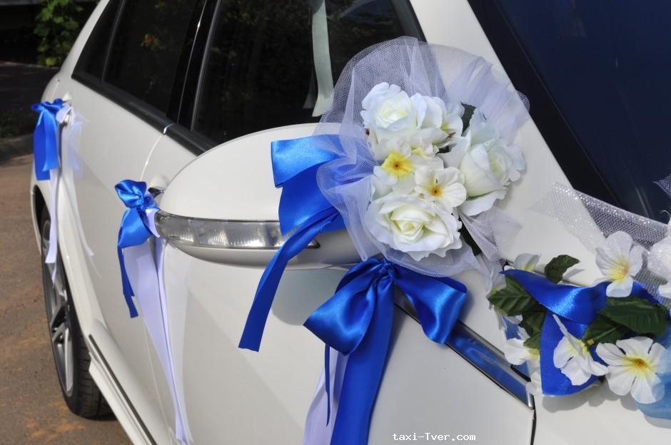 Украшение свадебных машин ручек своими руками